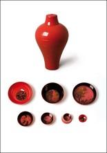 Red Bowl Stacking Set