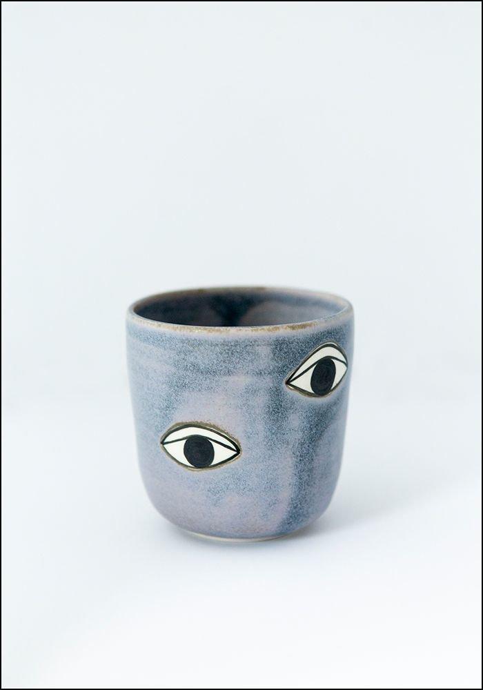 Demetria Chappo Eyes Cup