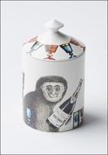 Fornasetti Scimmie Candle