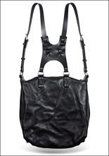 Leather Saddle Backpack
