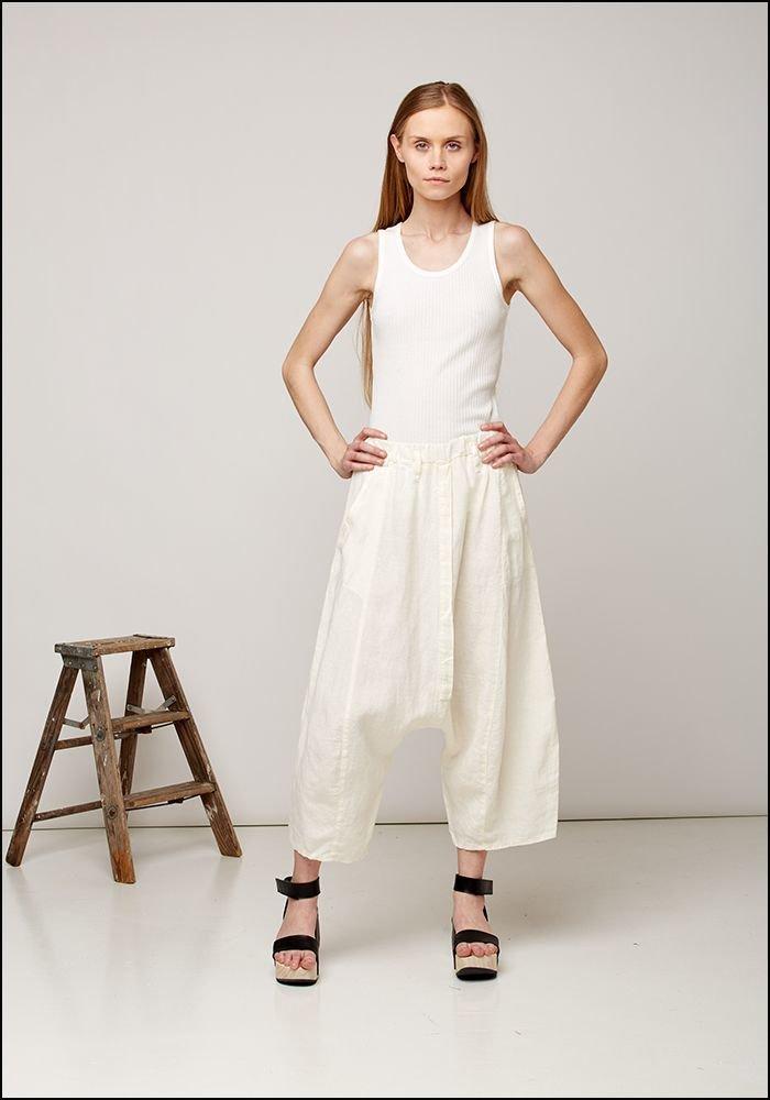 Drop Linen Pants 423