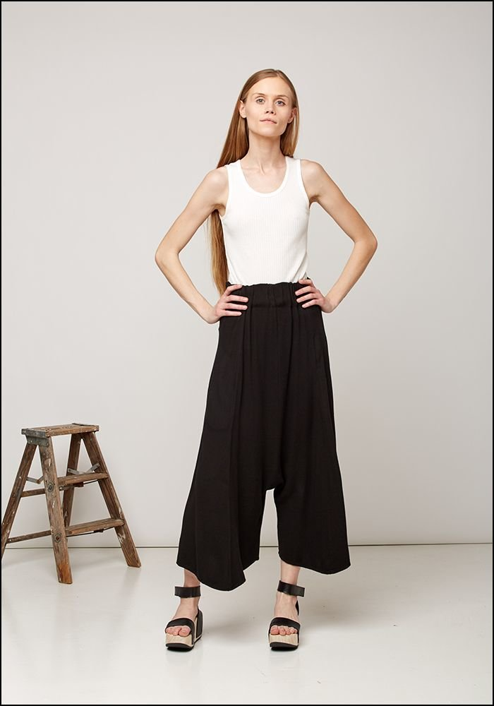 Gathered Waist Trousers