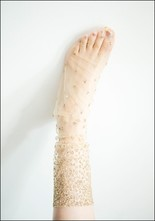 Lirika Matoshi Ombre Sparkle Socks