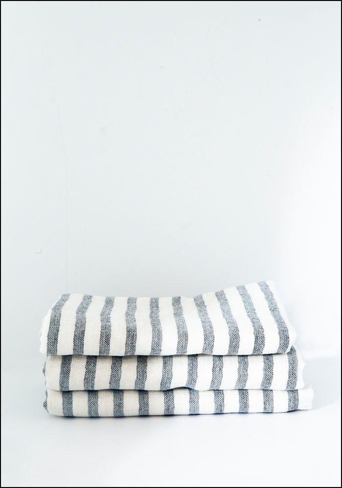 Linen Border Towel