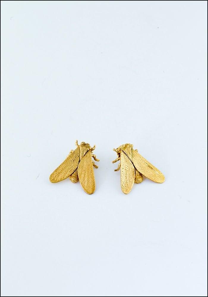 Avocet Gold Fly Studs