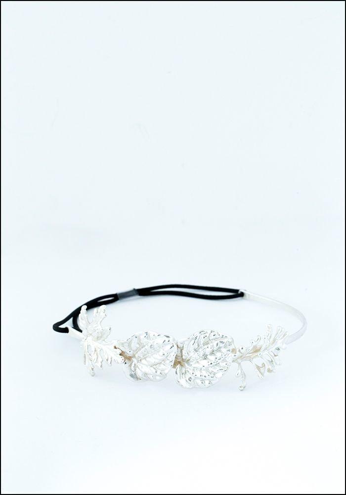 Belart Diadem Silver Half Headpiece