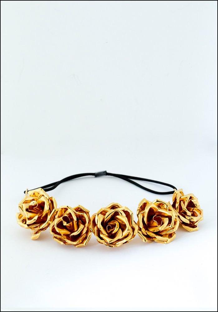 Belart Belart Gilded Roses Headpiece