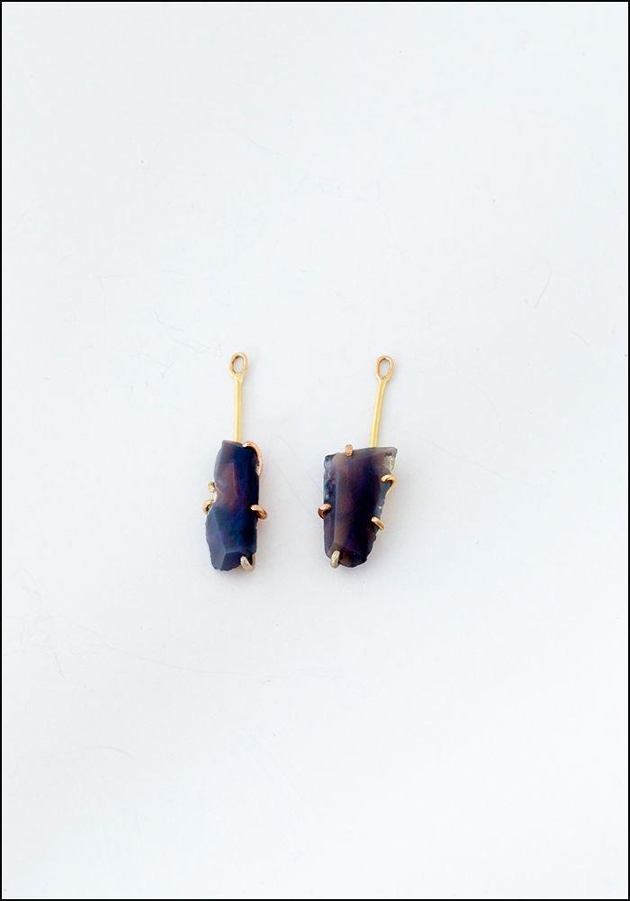 Variance Object Australian Opal Drop Earrings