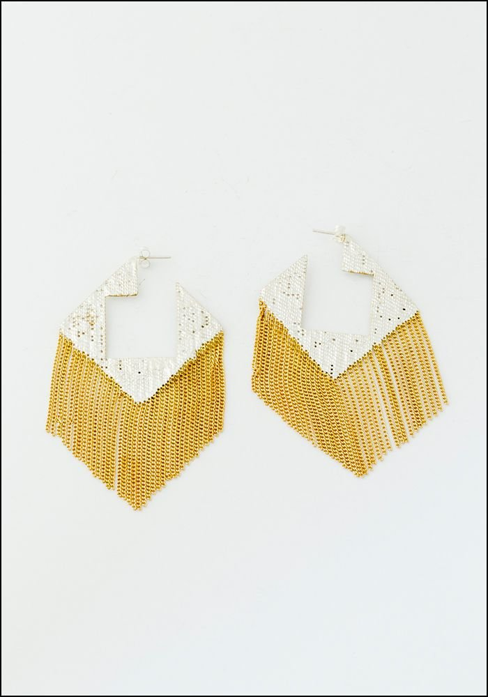 Hannah K Hannah Keefe Squared Earrings
