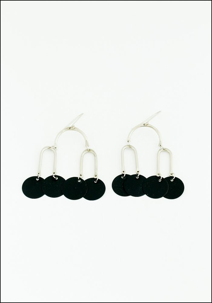 Black Mobile Earrings