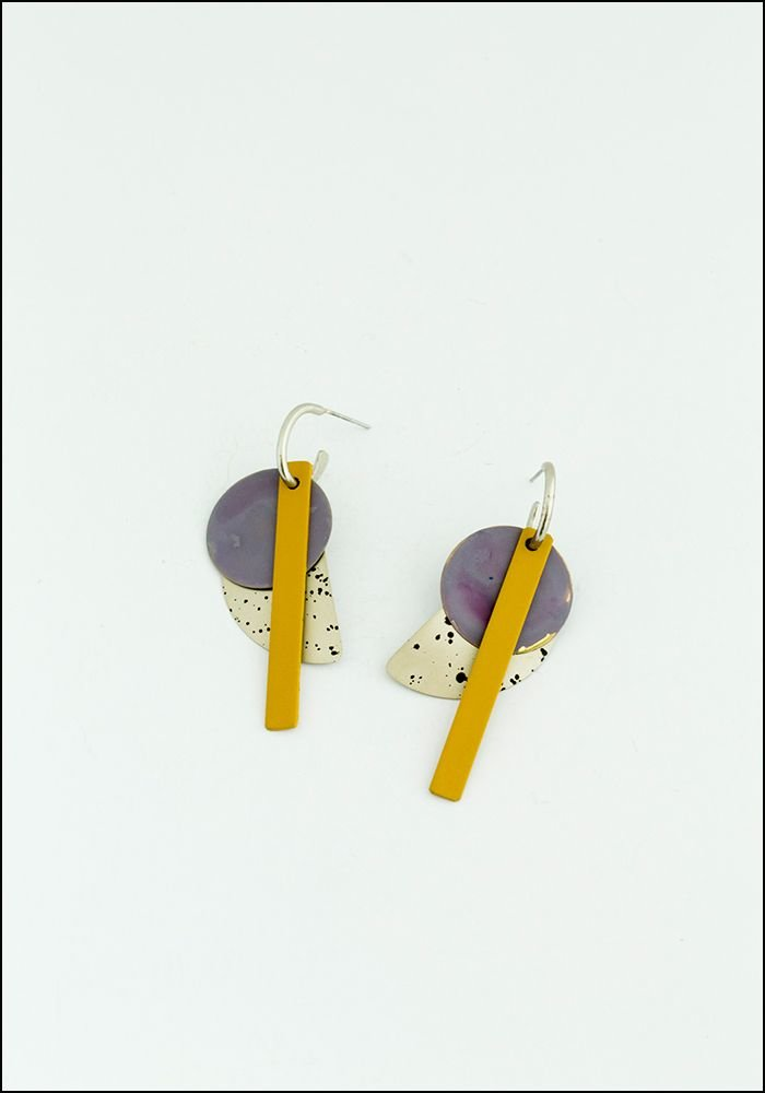 Klee Lavender Earrings