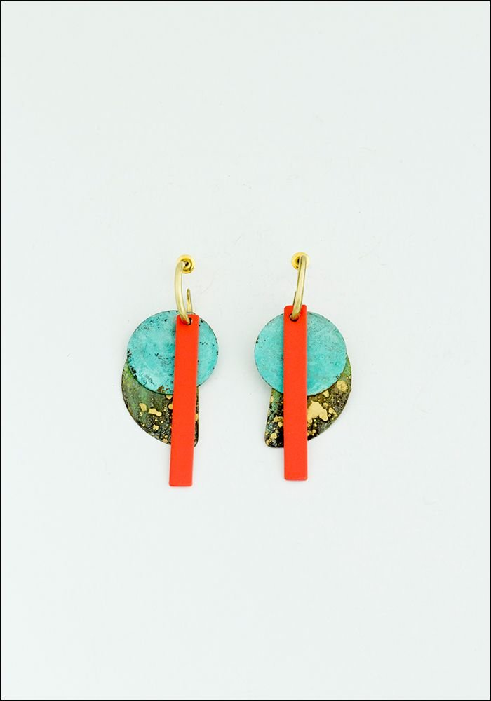 Klee Patina Earrings