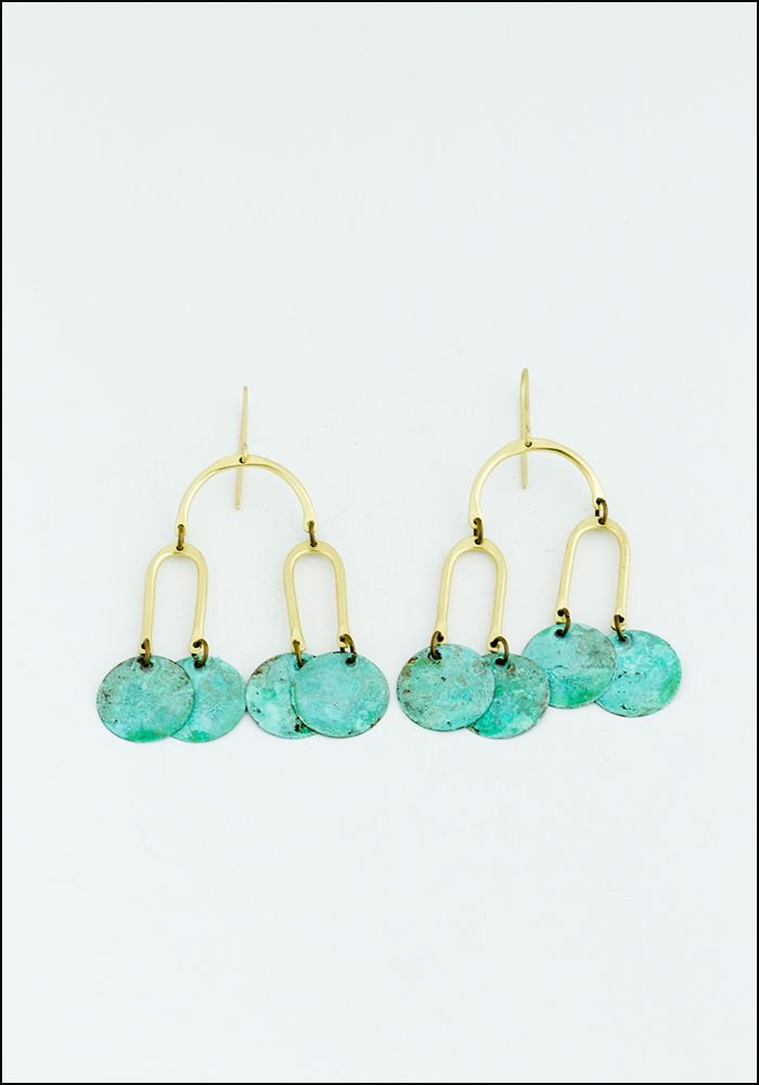 Patina Mobile Earrings
