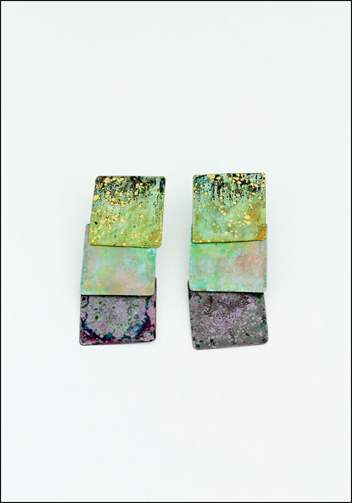 Squares Mix Earrings