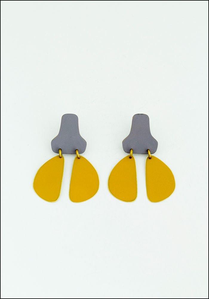 Sibilia Lavender Stepping Stones Earrings
