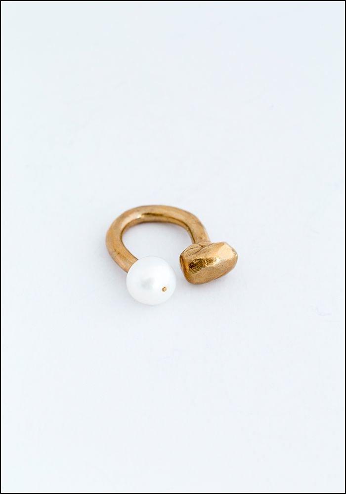 Miriam Nori Pearly Nugget Ring