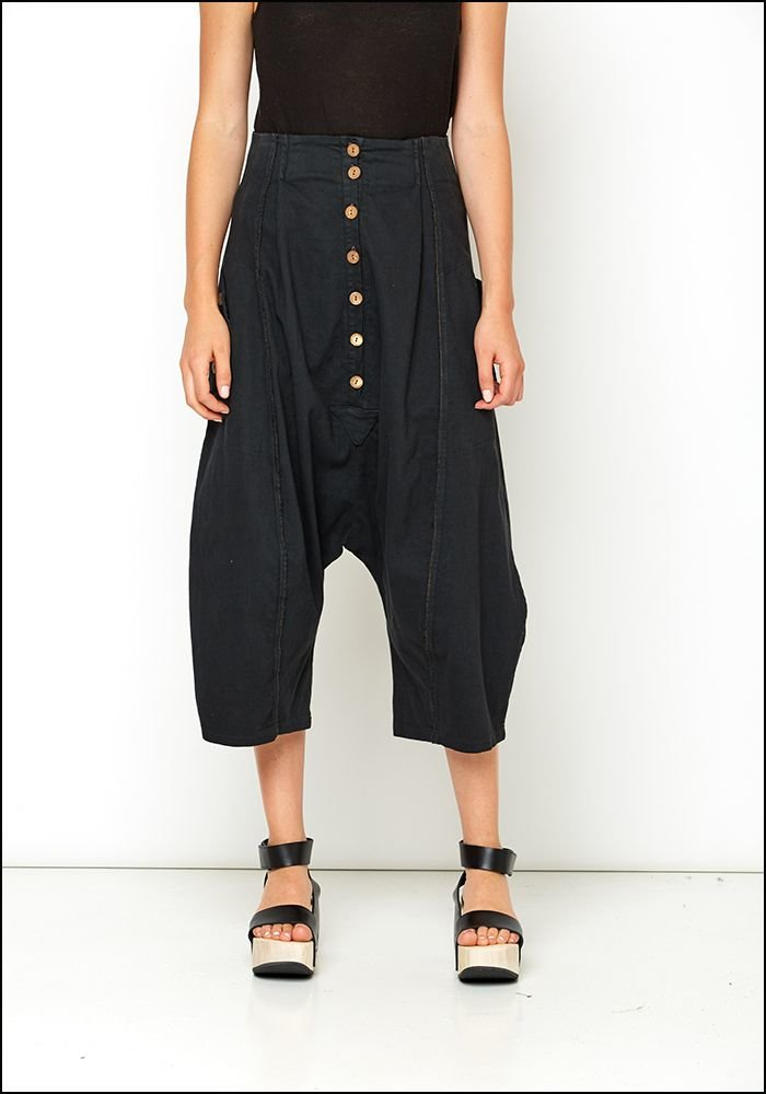 Lurdes Bergada Drop Full Leg Trousers