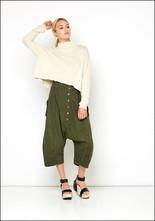 Mock Turtle Crop Sweater