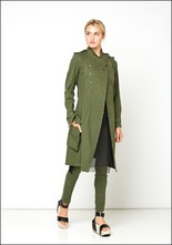 Button Swing Trench