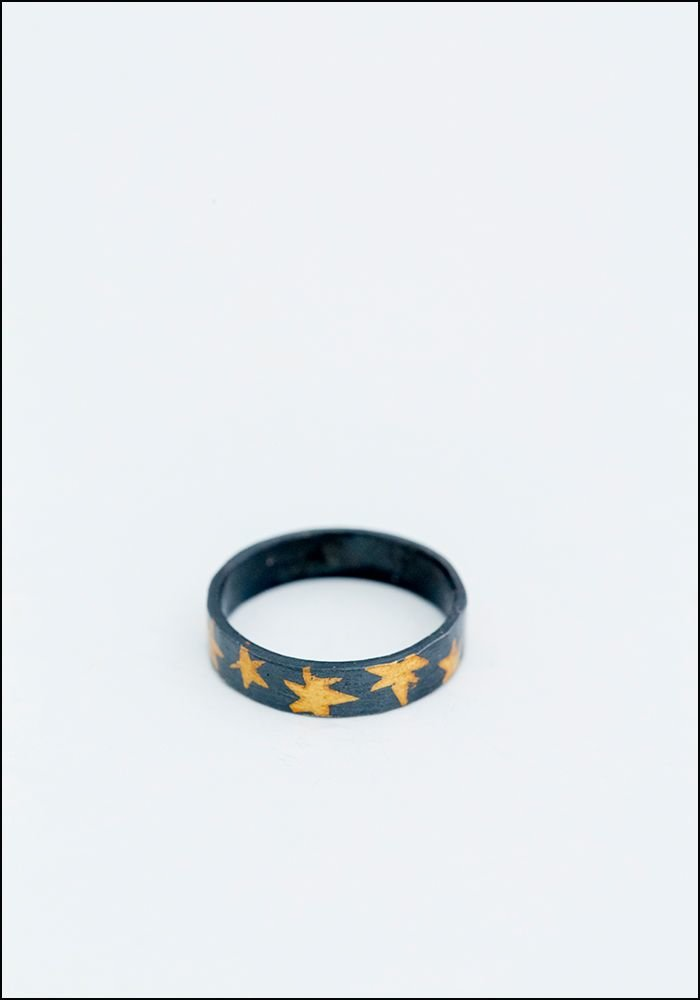 Asterisk Ring Band