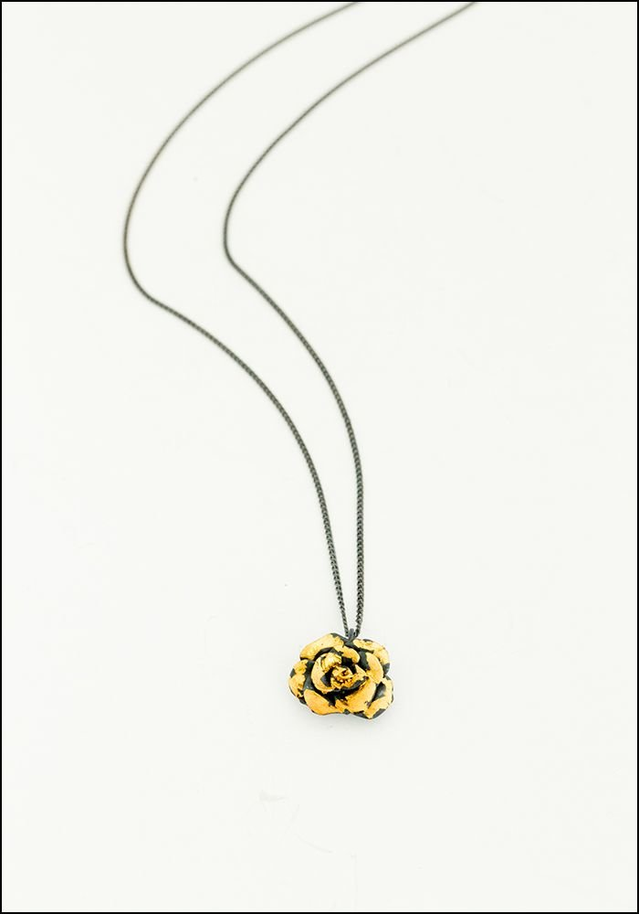 Acanthus Large Rose Pendant