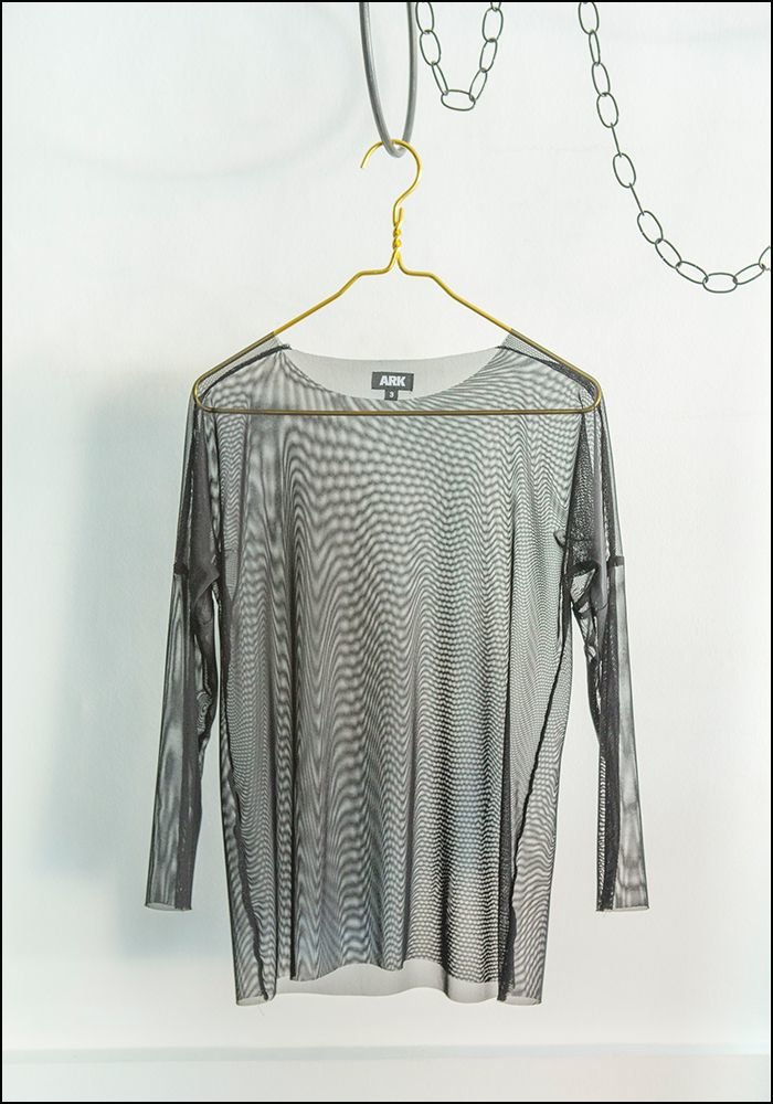 Ark NYC ARK NYC Long Sleeve Mesh Tshirt
