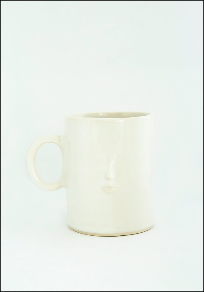 Rami Kim Tiny Face Ceramic Mug