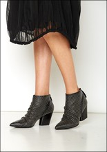 Halmanera Halmanera Studded Leather Bootie