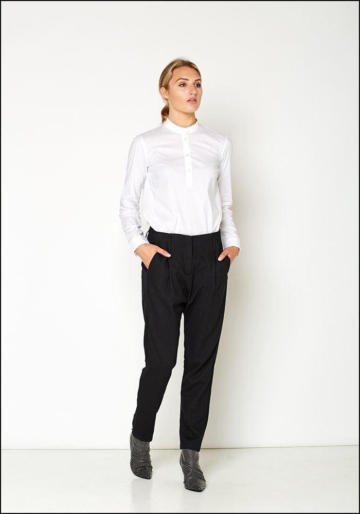 Even If Even If Wool Tapered Leg Trouser