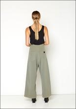 Serie Numerica S°N High Waist Wide Leg Cotton Pant
