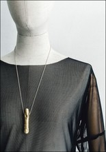 Angostura Gold Finger Necklace