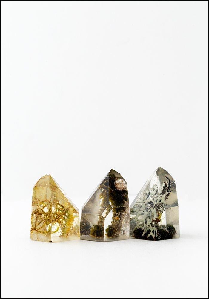 Kayla Burke Kayla Burke Resin and Lichen Crystal