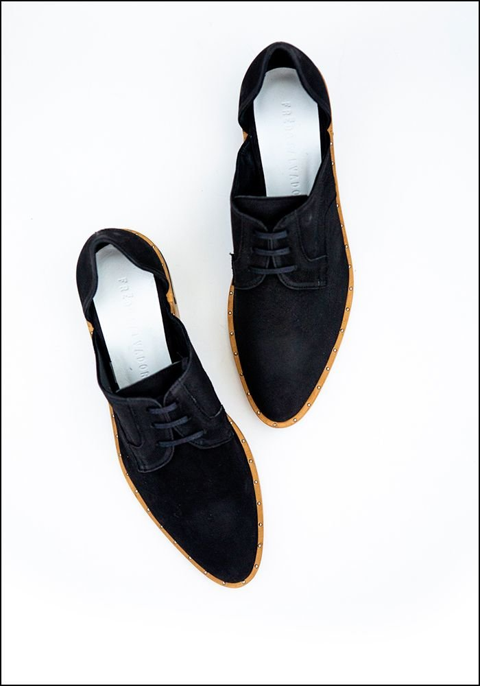 Freda Salvador Freda Salvador Black Leather Oxford