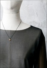 Acanthus Tiny Skull Necklace
