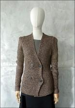 Nude Nude Structured Shoulder Knit Jacket