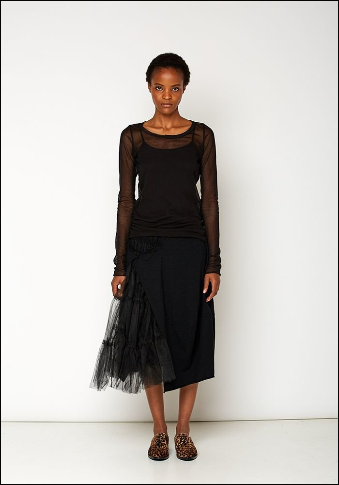 Rundholz Black Label Tulle Detail Full Skirt