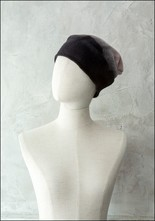 Claudia Schulz Claudia Schulz Hand Dyed Leather Strap Toque
