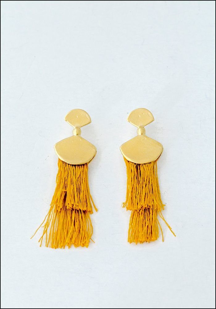 Takara Takara Mustard Palma Earrings