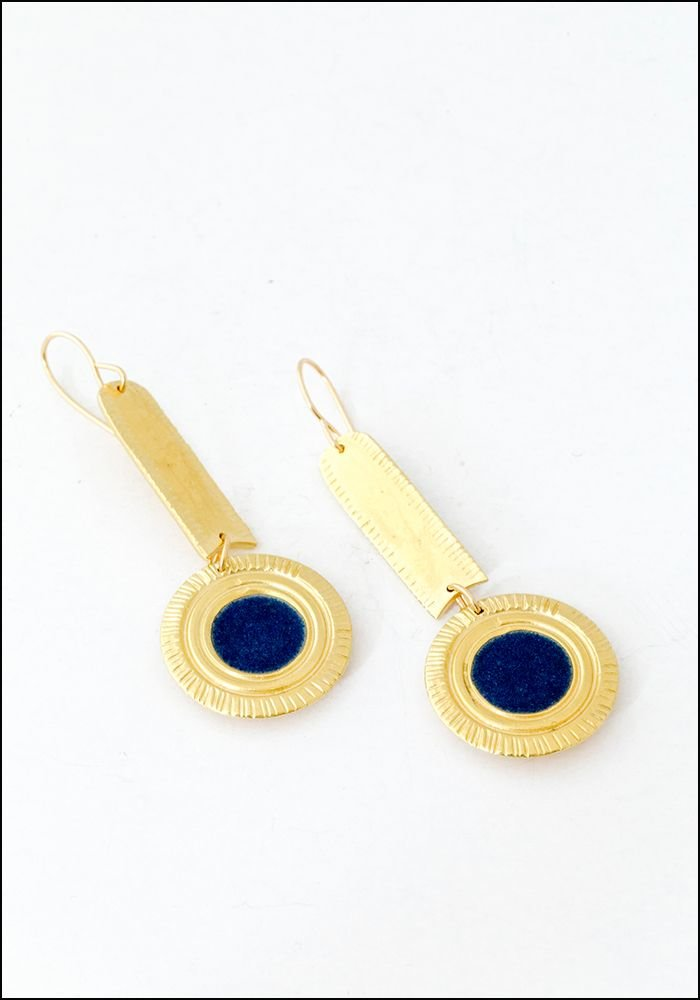 Takara Takara Lapis Ora Earrings