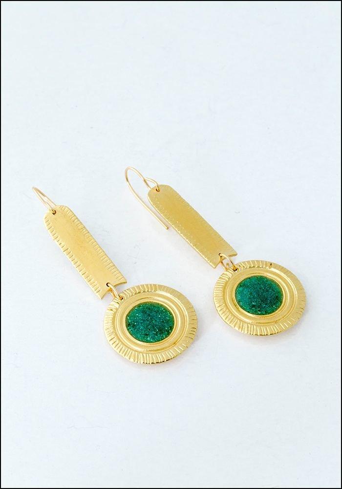 Takara Takara Turquoise Ora Earrings