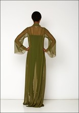 Ark NYC Mesh Maxi Dress