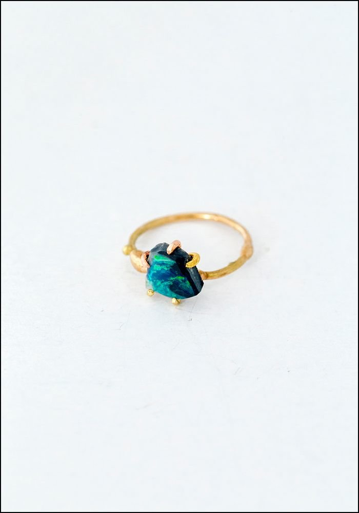Variance Objects Australian Opal Ring