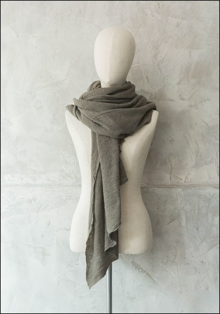 Claudio Cutuli Cashmere and Silk Blend Scarf