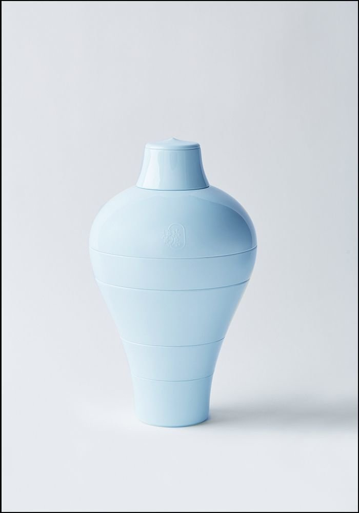 Ibride Blue Abysses Ming Stacking Bowl Set