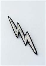 Macon and Lesquoy Lightning Emboirdered Pin