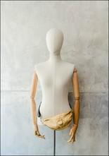 Embossed Leather Gold Scarab Belt Bag