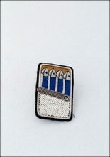 Macon and Lesquoy Sardines Embroidered Pin