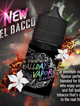 All Day Vapor El Bacco SALT