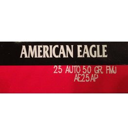 Federal Federal, American Eagle, 25 Auto