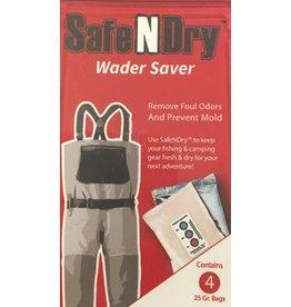 SafeNDry Wader Saver, 4 25 Gr Bags